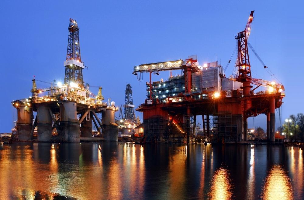 Mega projekty ogromnych platform branży offshore