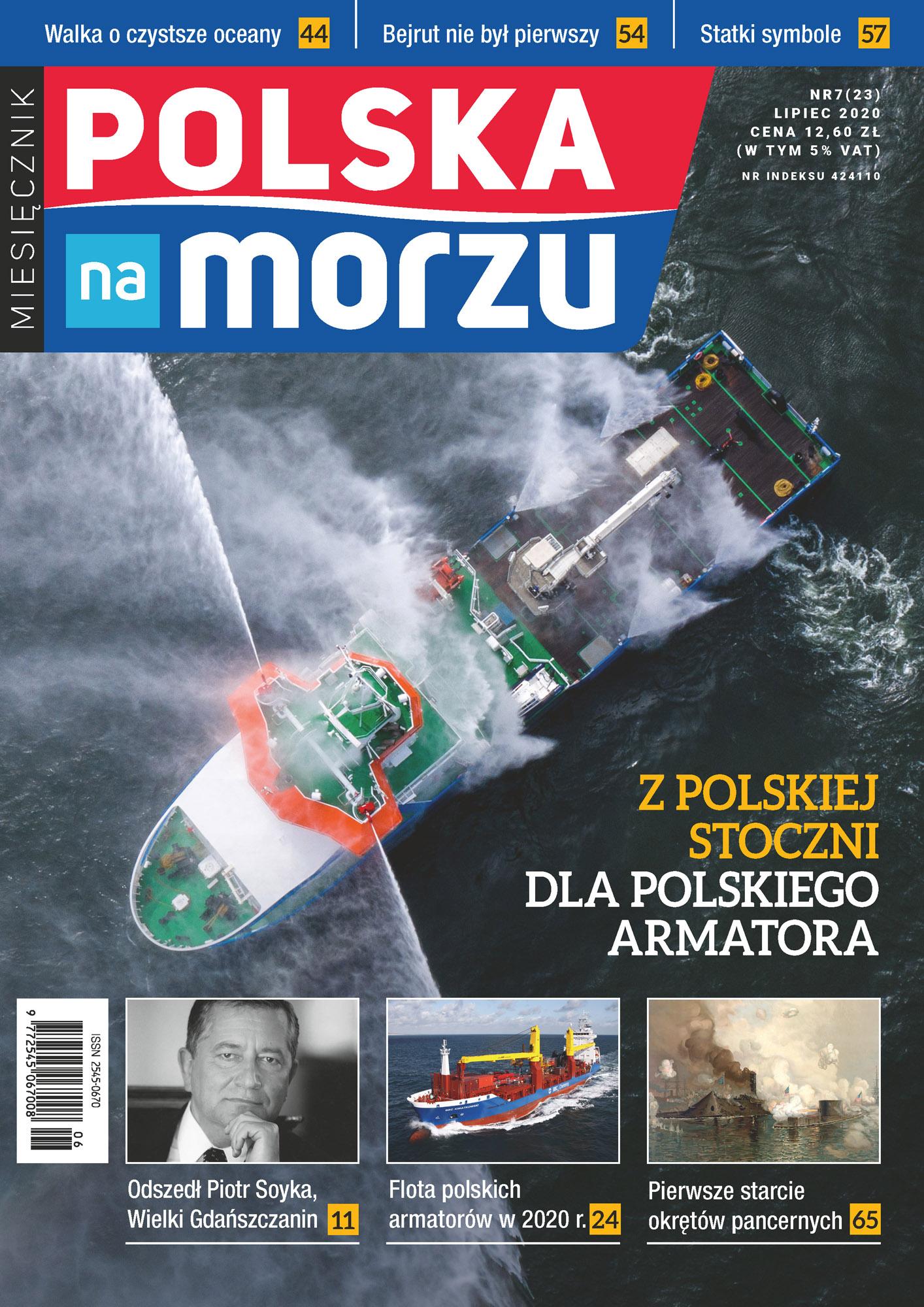 Polska na Morzu 23 wydanie - lipiec 2020